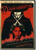 Stephen Fry and one other signed V For Vendetta DVD,