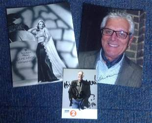 TVFilm signed collection 3 items Signed by Bob