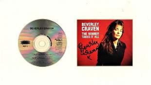 Beverley Craven 8x14 signature piece includes Compact