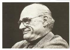 Arthur Miller playwright signed 6 x 4 b/w photo. Comes