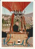 Richard Branson signed 7 x 5 colour photo in hot air
