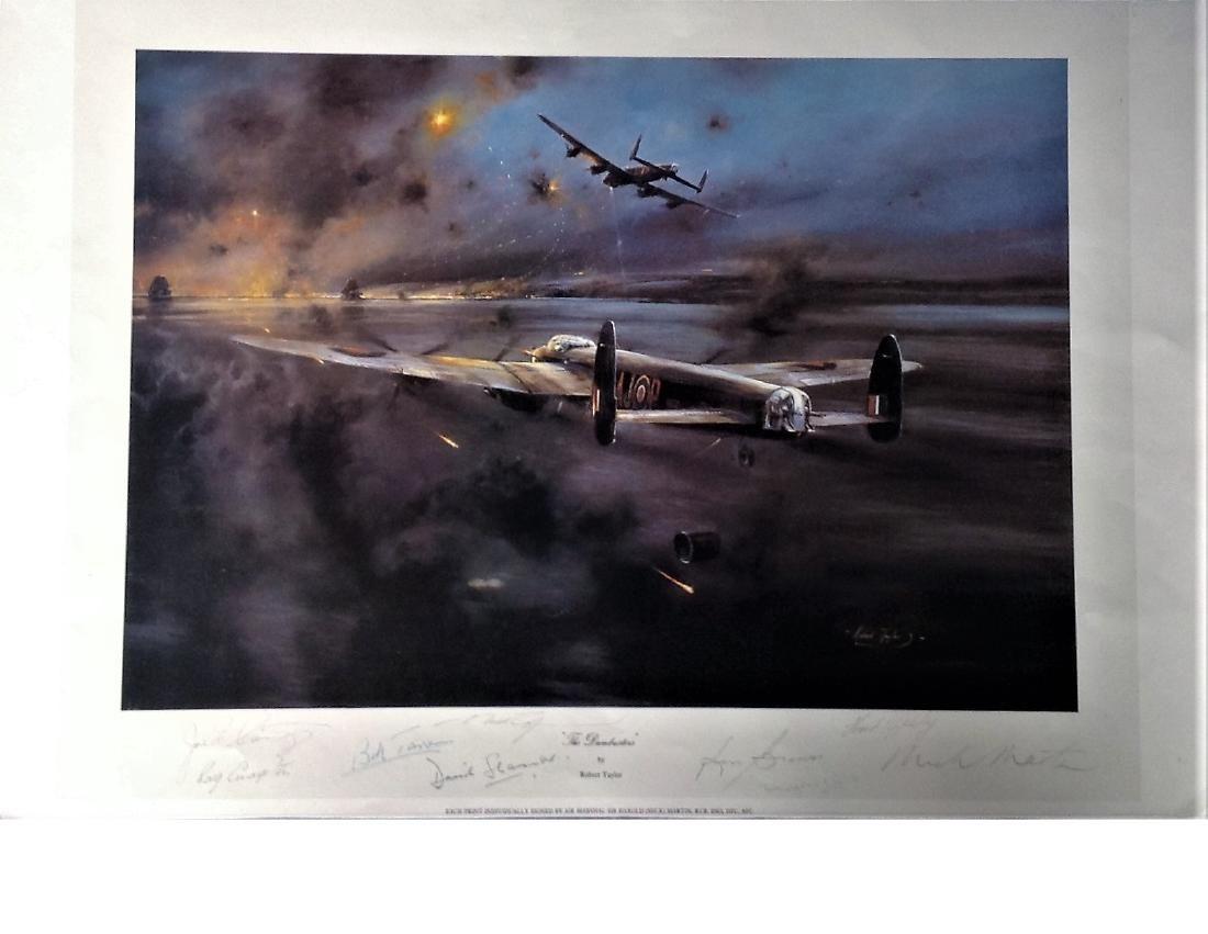 "Dambusters World War Two print 16x24 titled """"The"