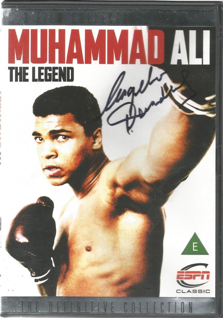 Boxing Muhammed Ali The Legend DVD 3 film collection