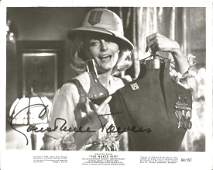Constance Towers signed 10x8 b/w movie still from The
