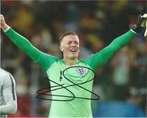 Jason Pickford Everton Signed England 8x10 Photo. Good