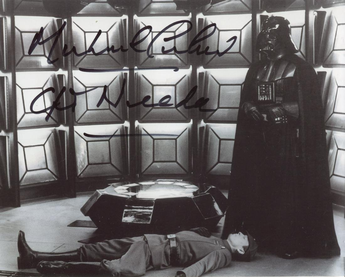 Star Wars. 8x10 photo signed by Star Wars actor Michael