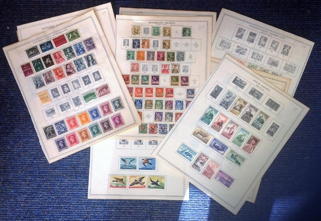 European Stamp collection dating pre 1960 includes 10