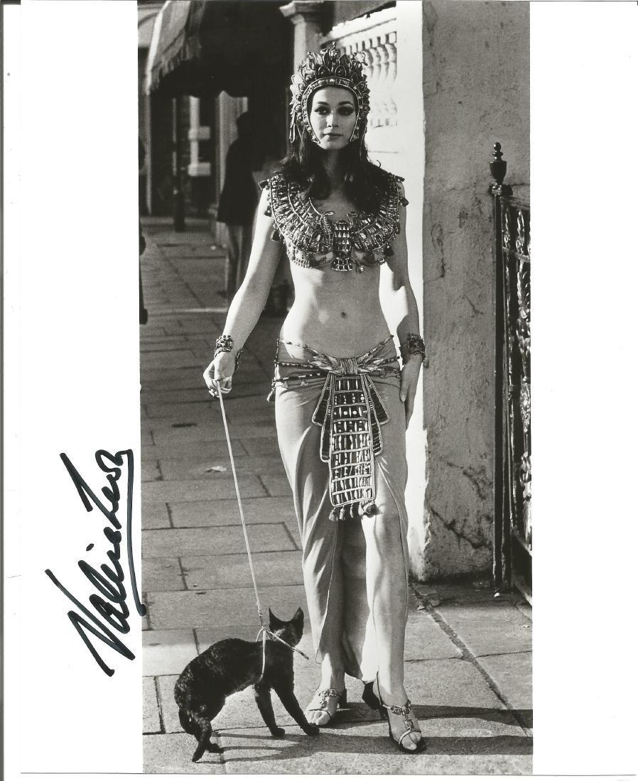 Valerie Leon genuine authentic autograph signed 10x8