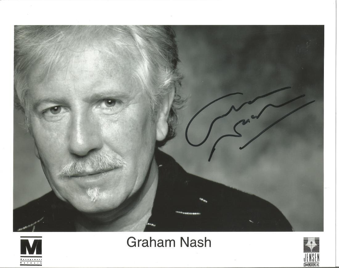 Graham Nash Crosby Stills etc genuine authentic