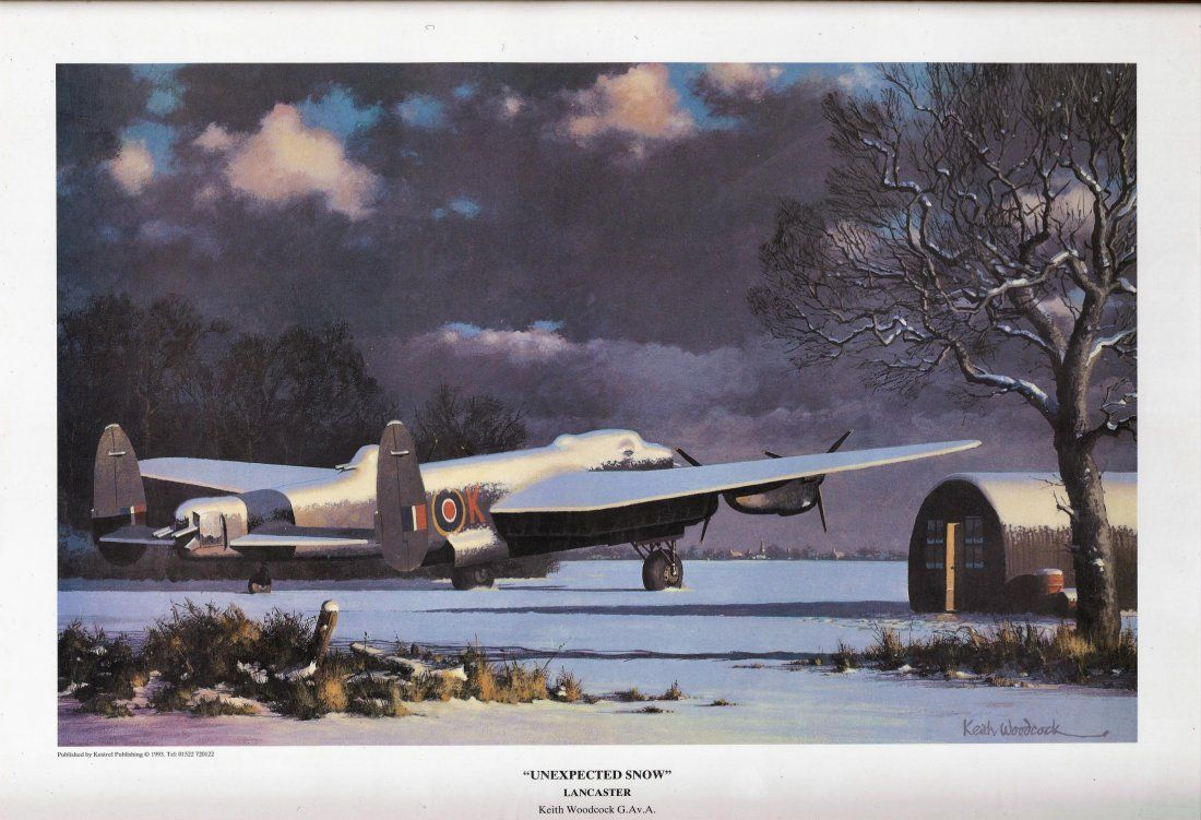 World War Two 17x12 approx framed print titled