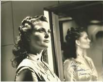 Jane Badler V hand signed 10x8 photo. This beautiful