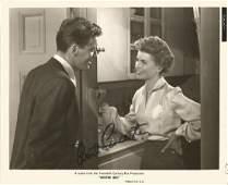 Burt Lancaster signed 10x8 b/w movie still from Mister