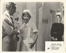 Jerry Desmonde signed 10x8 b/w movie still from A