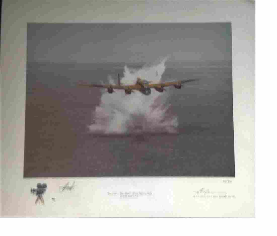 "Dambuster World War Two 16x20 print titled """"Too Low"