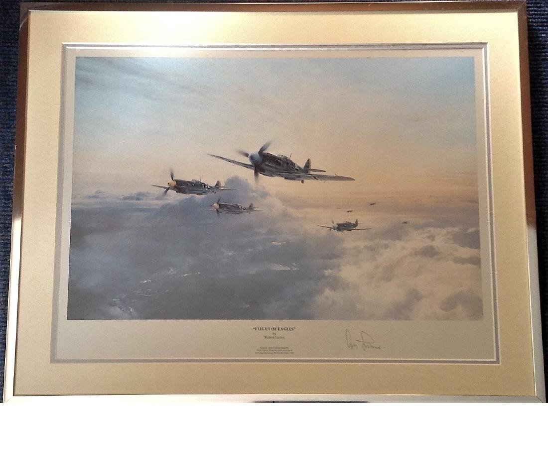 World War Two 19x24 framed and mounted print titled
