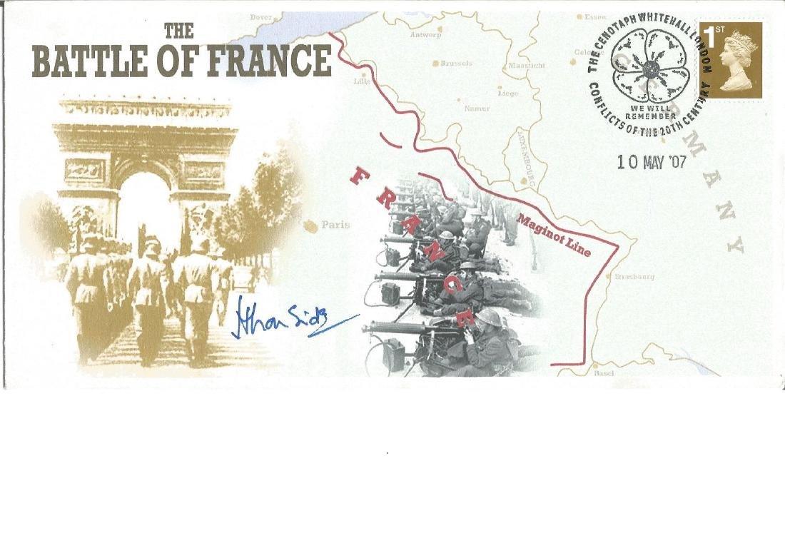 Brigadier Hugo Ironside signed The Battle of France.