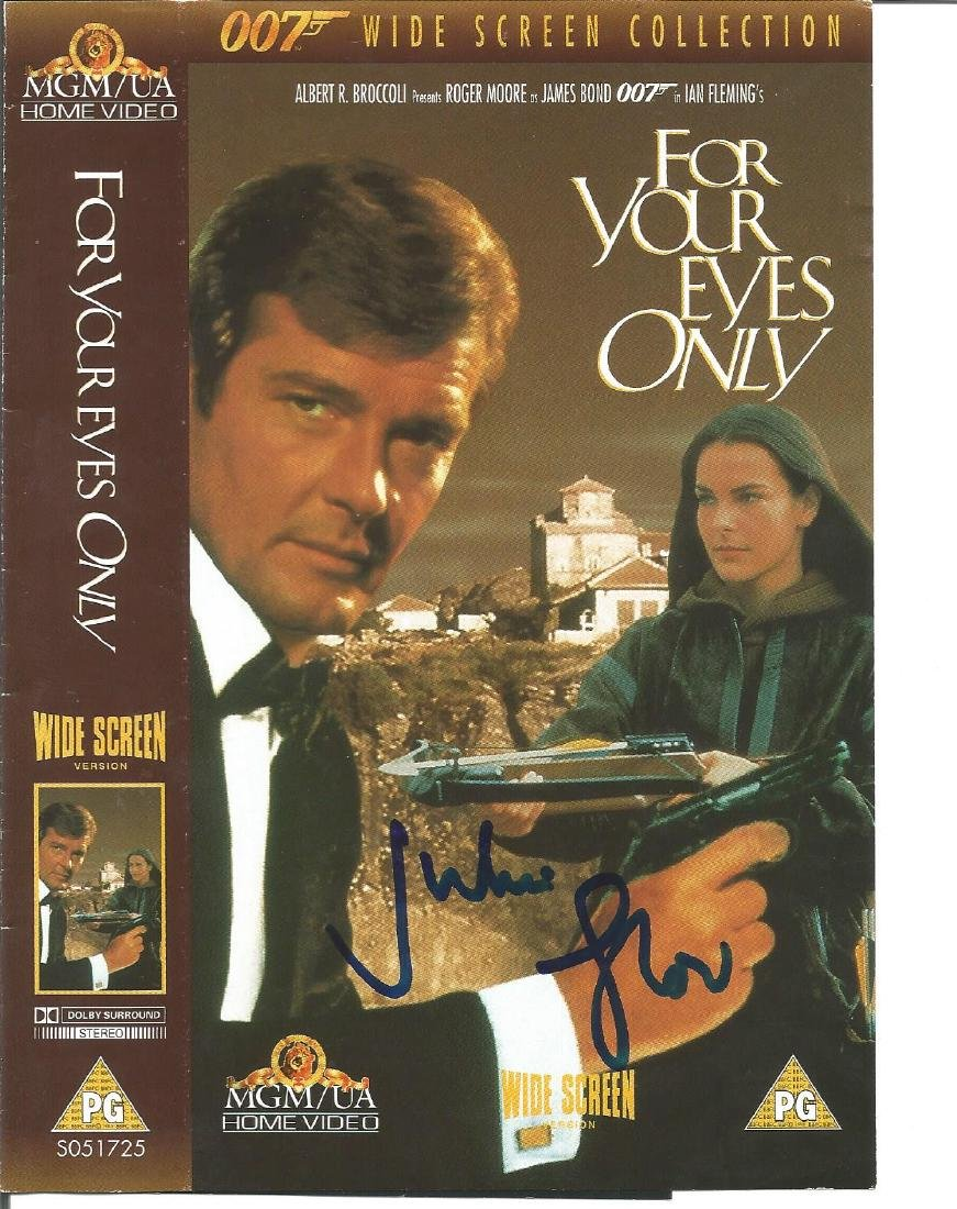 TV and Film collection Shane Rimmer signed 10x8 colour