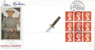 Joan Hickson signed Agatha Christie FDC. 19/3/91
