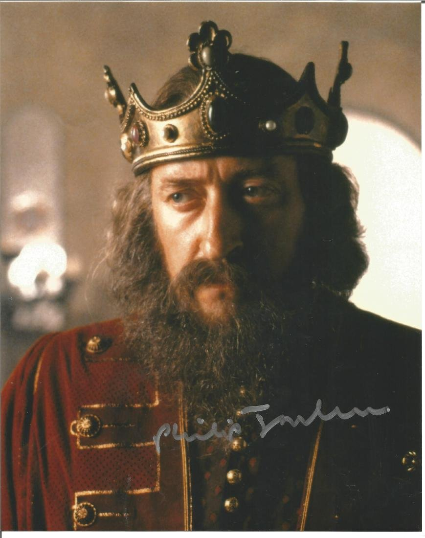 Philip Jackson signed 10x8 colour photo from The