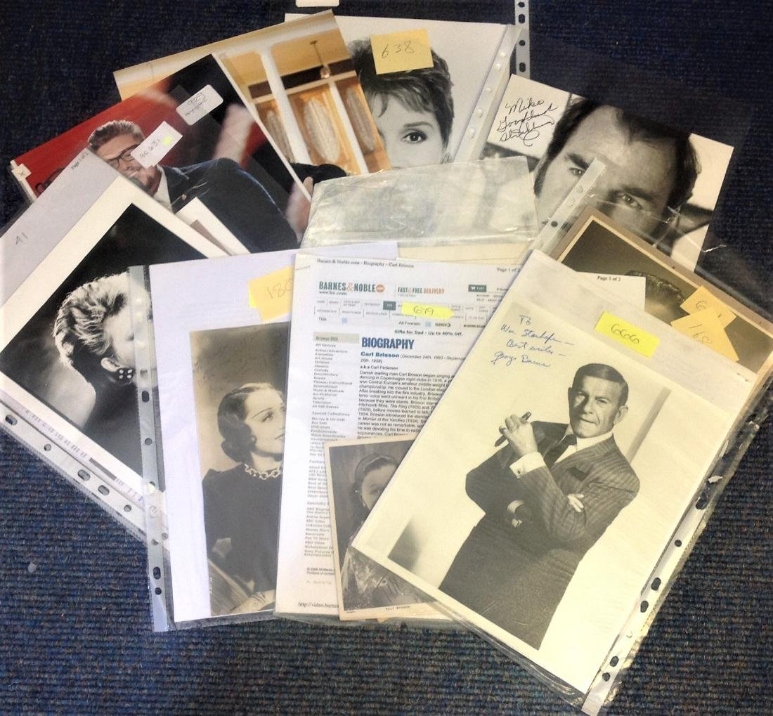 Assorted TV/Film/Music signed collection. 11 items