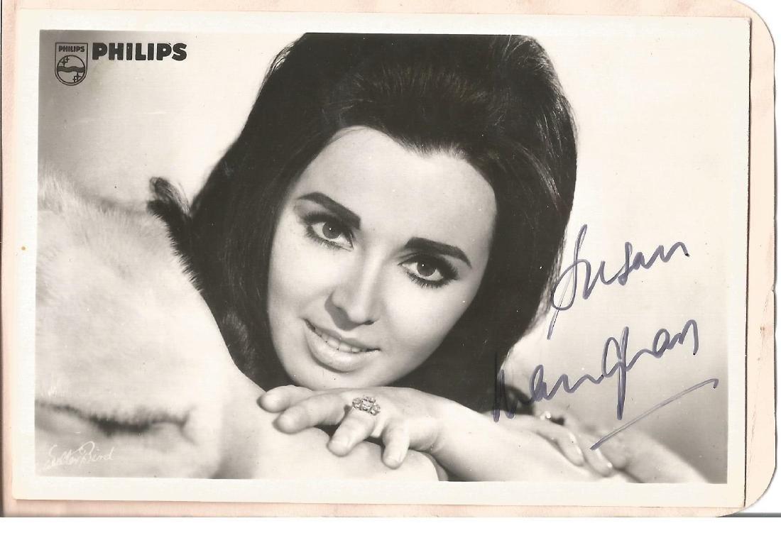 Susan Maughan Singer Signed Vintage Promo Photo