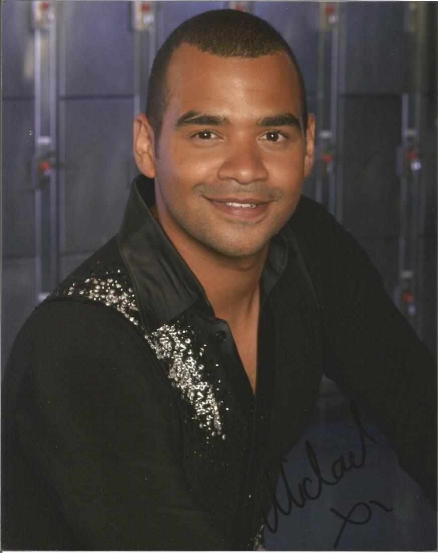 Michael Underwood 10x8 signed colour photo. Michael