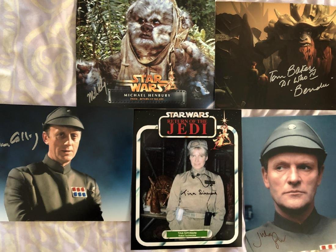 Star Wars Collection A Collection Of Ten 8x10 Inch