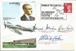 Air ViceMarshal J E Johnson Group Captain D R S