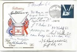 Fifteen George Cross winners signed 1995 Gallantry