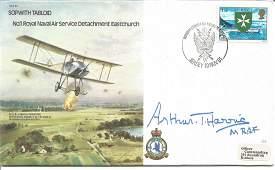 Marshal of the Royal Air Force Sir Arthur T Harris