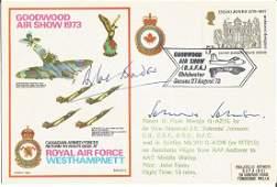 Grp Capt Sir Douglas Bader DSO DFC, AVM Johnnie Johnson