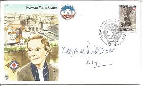Mary de Milleville Lindell OBE signed RAF Escapers