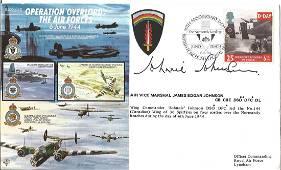D Day AVM James Johnnie Johnson CB CBE DSO DFC DL