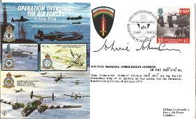 D Day AVM James Johnnie Johnson CB, CBE, DSO , DFC , DL