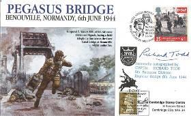 D Day Captain Richard Todd 6th Airborne Div Pegasus