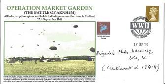 Brigadier Mike Dauncey DSO DL Horsa Glider pilot