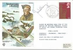 Sqn Ldr James Lacey DFM top Battle of Britain fighter