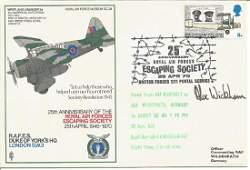 Sqn Ldr Alex Wickham signed RAF Duke of Yorks Escaping