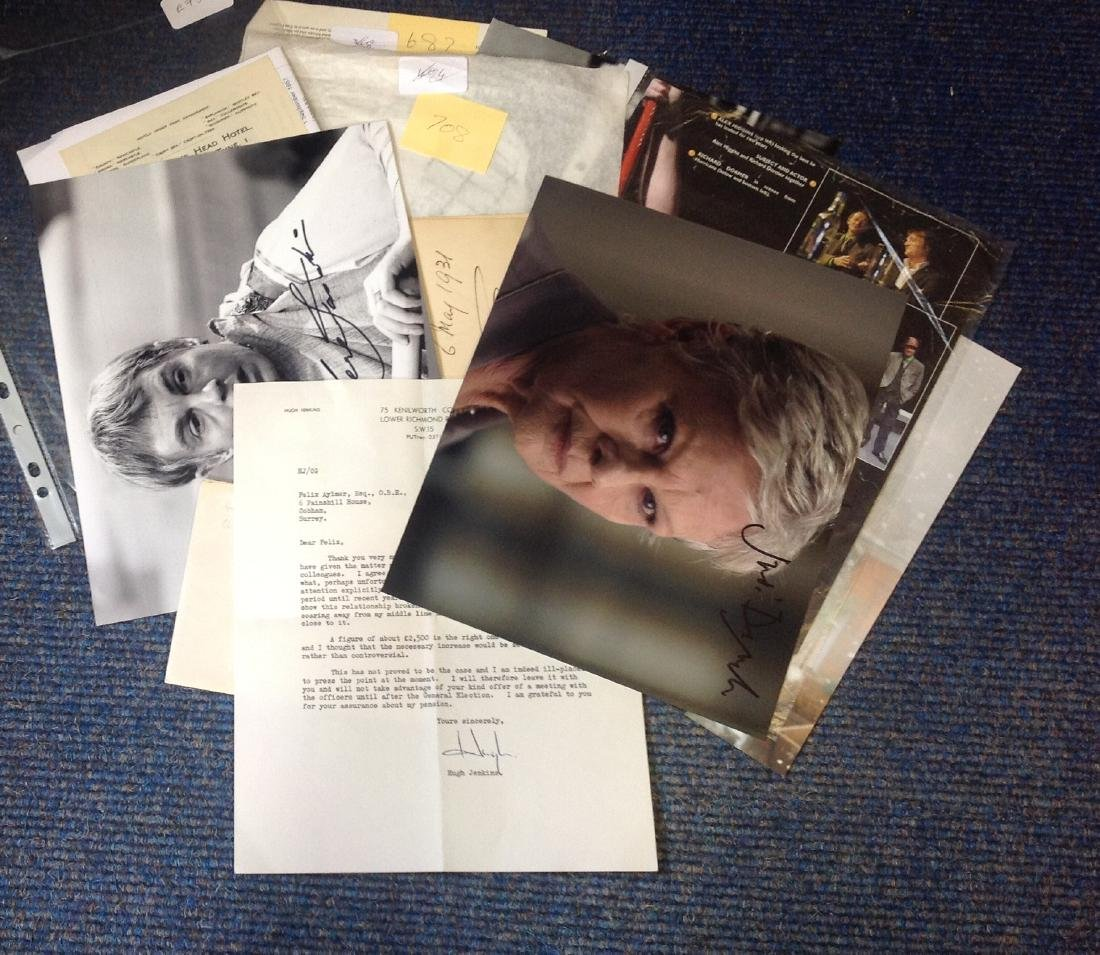 Assorted TV/film/music signed collection. Some of names