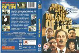 John Cleese and Michael Palin signed DVD insert for