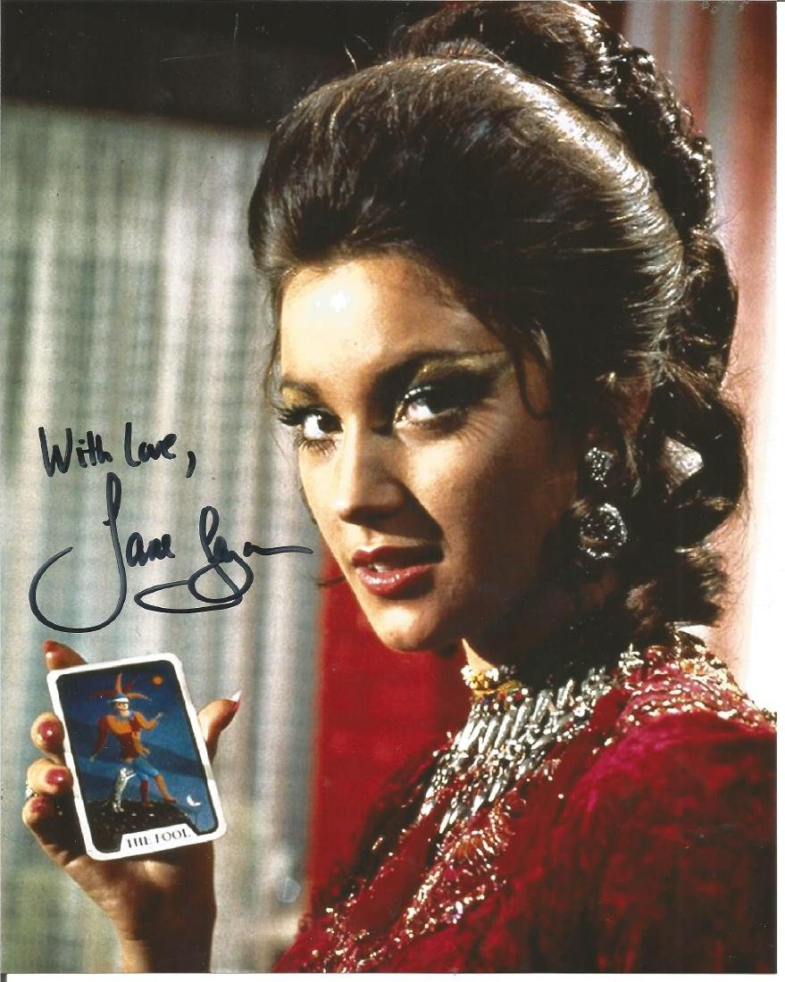 Jane Seymour signed 10x8 colour photo. Good Condition.