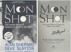 Apollo 14 Alan Shepard. First edition quality paperback