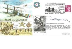 1997 Viscount Montgomery of Alamein signed Arras and