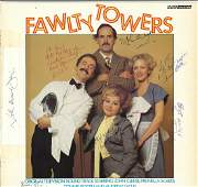 Fawlty Towers original soundtrack album signed on the