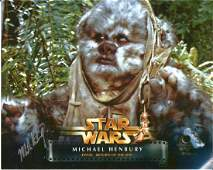 Michael Henbury signed Star Wars 10x8 colour photo