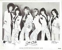 Guys and Dolls signed 10 x 8 bw photo Guys and Dolls