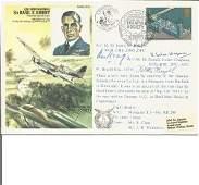 Multsigned WW2 cover Dedicated to ACM Sir Basil E.