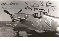 WW2 Luftwaffe aces Erich Hartmann Adolf Galland Oskar