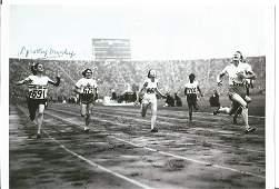 Olympics Dorothy Manley 6x4 signed b/w photo, British