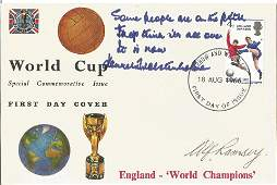 1966 World Cup commerative FDC England World Champions